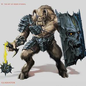 The Art of Doom Eternal - Gladiator