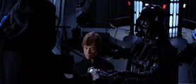 Vader Emperor Luke
