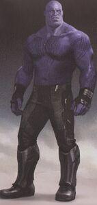 Avengers Infinity War Thanos concept art 5