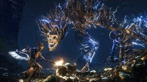 Bloodborne Darkbeast Paarl Boss Fight (1080p)