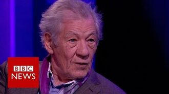 Harry Potter Sir Ian McKellen reveals why he turned down Dumbledore role - BBC News