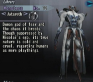 Astaroth, Library