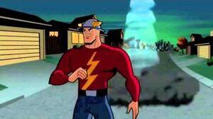 Batman & Flash vs Scarecrow and Scream queen