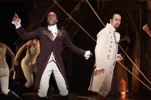 Burr and Hamilton Tony Awards