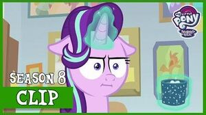 Cozy Glow Turns to Counselor Starlight for Advice (Marks for Effort) MLP FiM HD