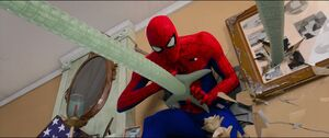 Doctor Octopus attacks Peter B. Parker again