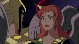 Hawkgirl exposed as a traitor