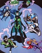 Phobia with the Teen Titans