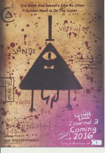 Promotional Card- Bill Cipher
