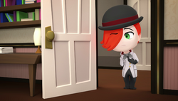 Chibi 22 surprised roman