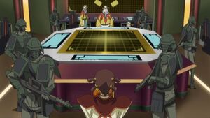 Chinese Federation officials & soldiers (Code Geass anime)