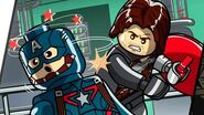 LEGO Marvel's Avengers Walkthrough - Lack of Insight (Captain America Winter Soldier Bonus Level)