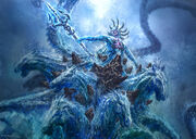 Poseidon Hippocampi Boss battle