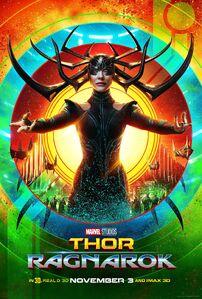 Thor Ragnarok Hela Poster