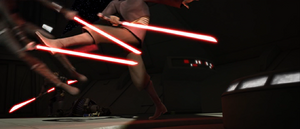 Count Dooku kick