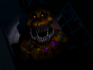 Fredbear Right Close