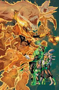 Green Lantern Vol 5 22 Textless