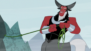 Lord Tirek securing the vine S9E8
