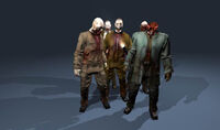 Monster zombies
