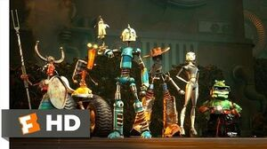 Robots (2 3) Movie CLIP - Charge! (2005) HD