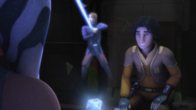 Anakin demonstrates