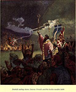 Crom-cruach defeat