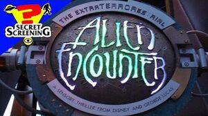 ExtraTERRORestrial Alien Encounter WALT DISNEY WORLD 1995-2003 Secret Screening