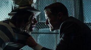 Gordon Interrogates Jervis Tetch Season 3 Ep