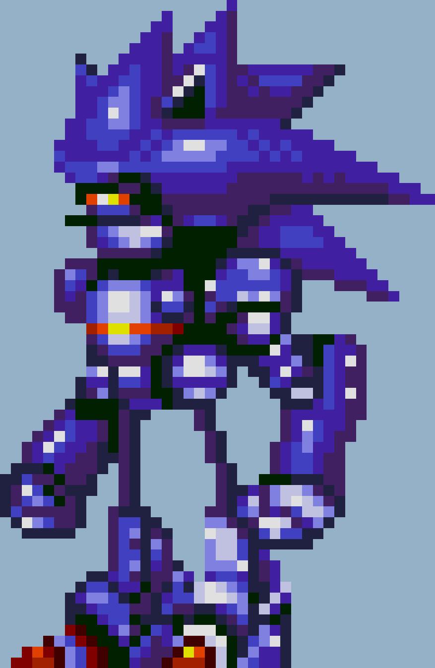 Mecha Sonic Villains Wiki Fandom Powered By Wikia