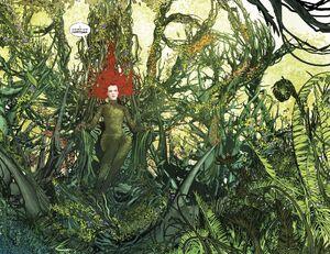 Poison Ivy Plant Throne