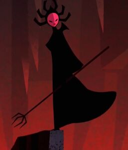 The High Priestess of Aku