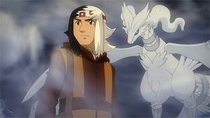 Damon and Reshiram