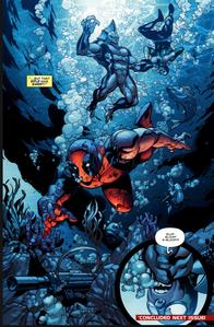 Deadpool vs Tiger Shark 4