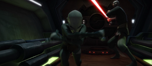 Dooku Ventress escapes