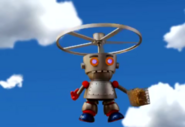 Fryborg as a Helicopter