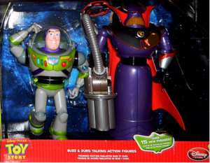 Buzz and Zurg pack