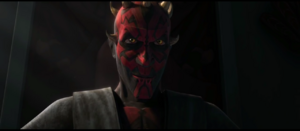 Darth Maul Grin Evilly