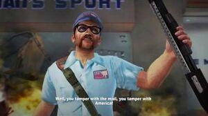 Dead Rising 2 OTR Remastered - Carl The MailMan Boss Battle