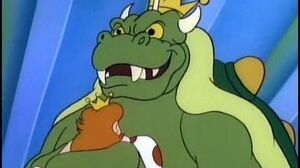 King Koopa Quotes from the Adventures of Super Mario Bros 3 cartoon