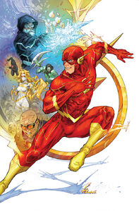 The Flash Vol 5 84 Variant Textless