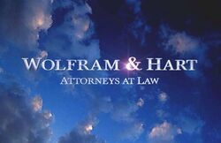 The Wolfram & Hart Logo