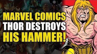 Thor's Godblast Shatters His Hammer!? (Thor vs The Celestials)