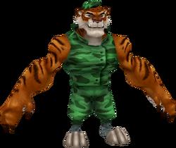 Tiny Tiger Crash of the Titans