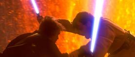 Vader grapples