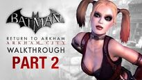 Batman Return to Arkham City Walkthrough - Part 2 - The Steel Mill