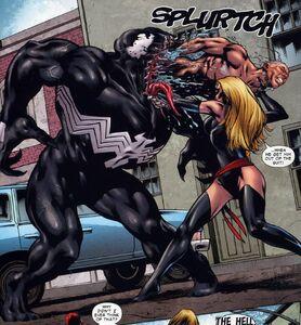 Carol Danvers (Earth-616), MacDonald Gargan (Earth-616), and Venom (Klyntar) (Earth-616) from Siege Spider-Man Vol 1 1 0001