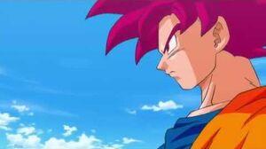 Goku SSJ GOD vs Bills Full Fight