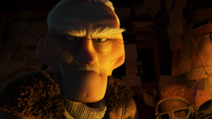 Muntz angry stare