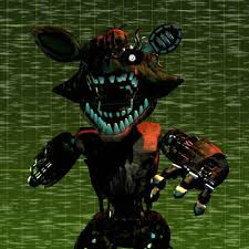 Phantom Foxy in Five Nights at Freddy's 3