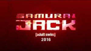 SAMURAI JACK Teaser - 2016 (HD) Adult Swim, Genndy Tartakovsky
